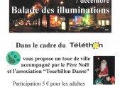 7 décembre : Ballade des illuminations de Saint-Junien dans le cadre du Téléthon
